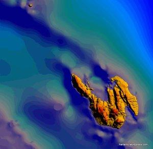 Benteng alam di bawah permukaan laut