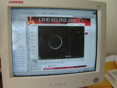 Gambar-2. Live Eclipse - 1