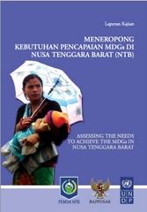 Sampul buku MDGs NTB