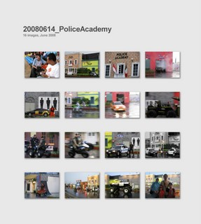 Moto di Police Academy
