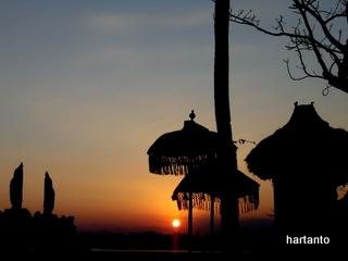Sunset @ Muara Perancak, Jembrana, Bali