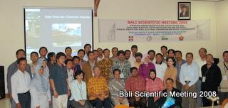 Bali Scientific Meeting 2008, Perancak, Bali