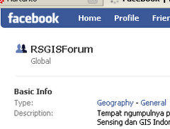 Grup RSGISForum di Facebook