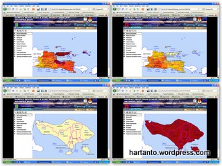Hasil Pemilu Legislatif di Jatim dan Bali