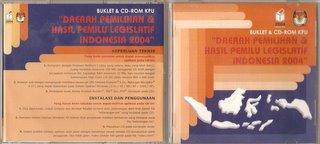 CD-ROM Webgis Hasil Pemilu Legislatif 2004