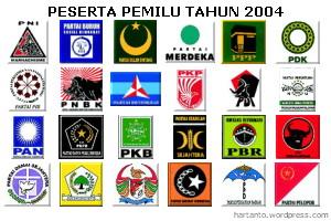 Peserta Pemilu 2004