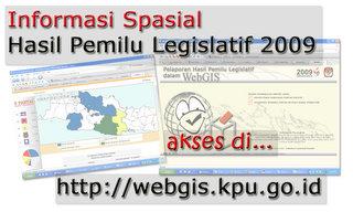 WebGIS Pemilu 2009
