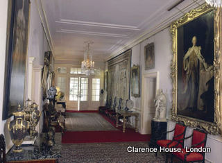 Ruang Utama saat memasuki Clarence House