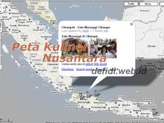 Peta Kuliner Nusantara