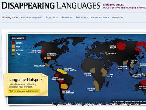 Disappearing Languages NG