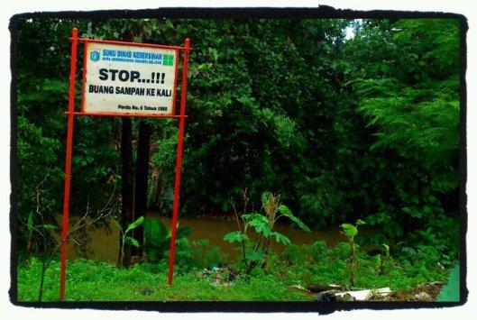 Stop buang sampah