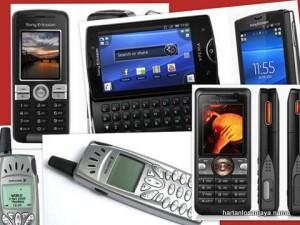 HP dari masa ke masa: Ericsson, Sony Ericsson, Sony...
