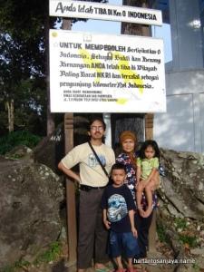 Km Nol Indonesia di Sabang, Pulau Weh.