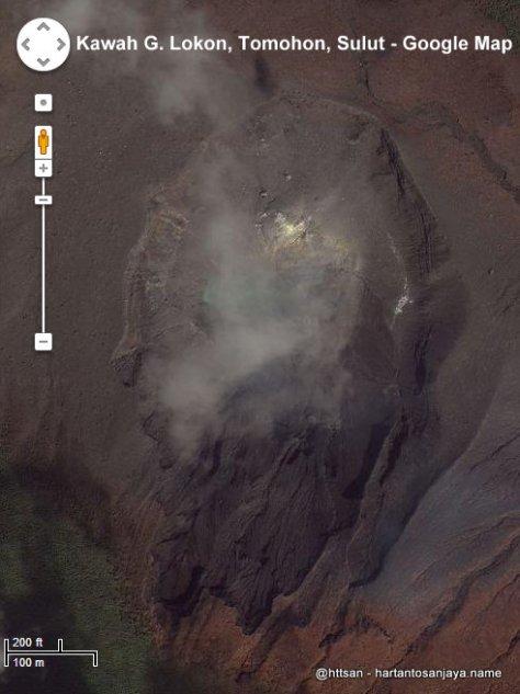 Kawah Gunung Lokon