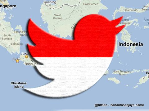 Akun twitter Pemerintah Indonesia