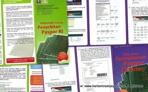 Informasi tentang Penerbitan Paspor dan Tata Cara Permohonan Paspor Online.