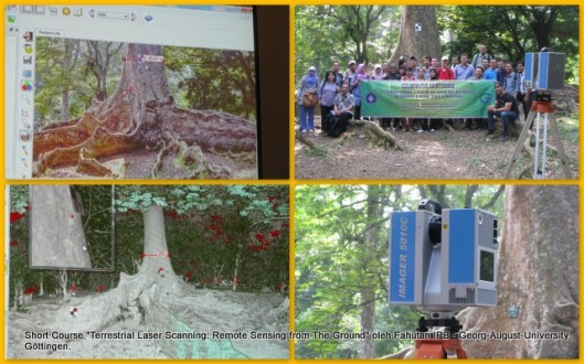 "Collaborative Short Course ""Terrestrial Laser Scanning: Remote Sensing from The Ground"""