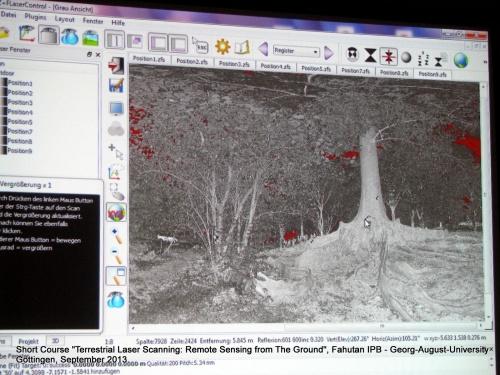Perekaman dan Pengolahan Data 3D Terrestrial Laser Scanning