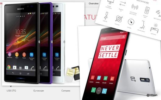 Dari Sony ke OnePlus