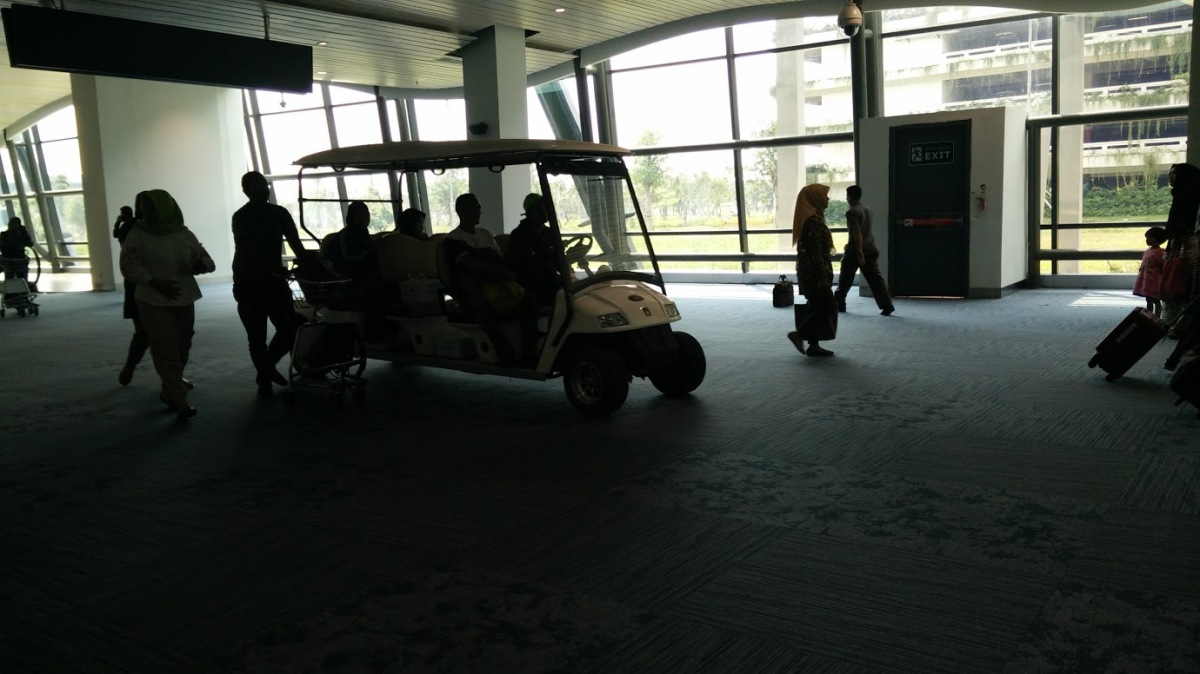 Mobil Golf Bandara Soekarno Hatta